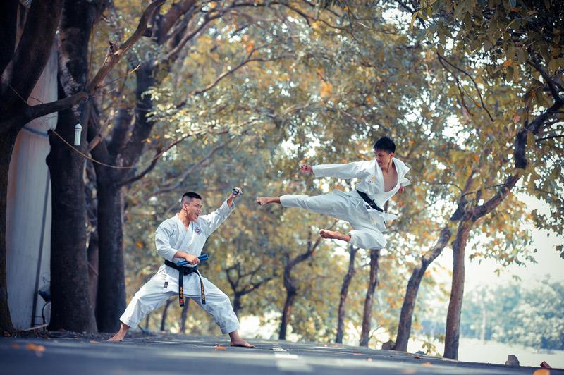 Karate deporte olímpico IKIGAI 4