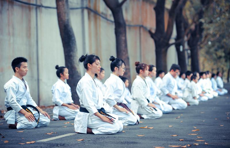 Karate deporte olímpico IKIGAI 2