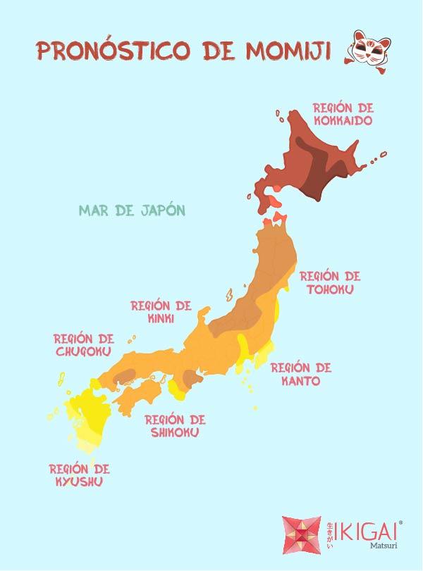 Momiji en Japón Ikigai