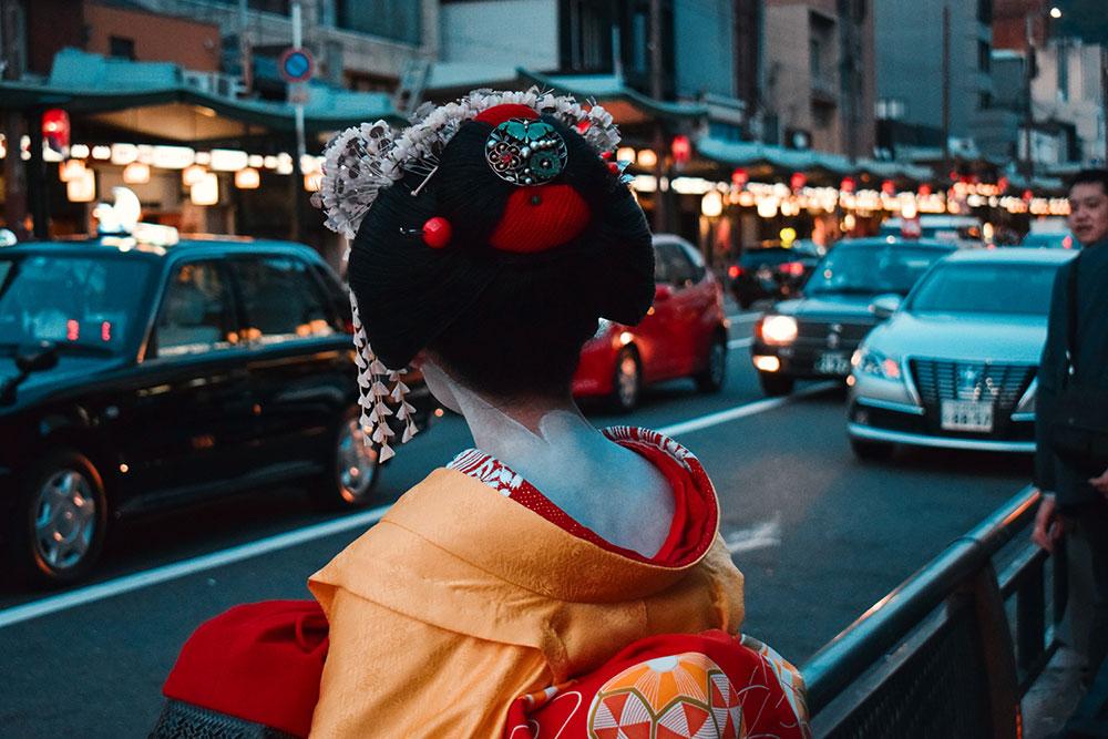geishas en la actualidad