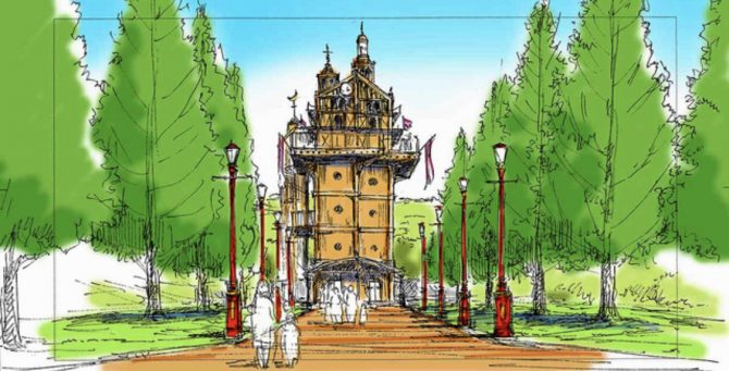 parque temático de Studio Ghibli