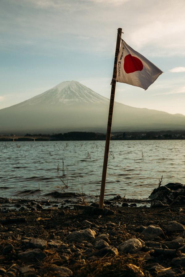 bandera de japon