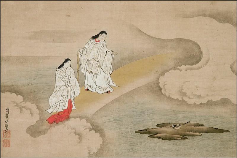 El mito de la creación de Japón / Religión de Japón