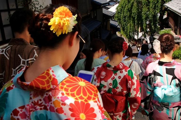 Tipos de kimono