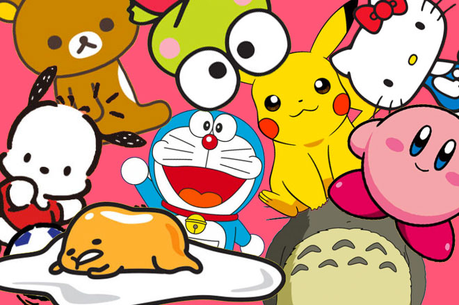 personajes kawaii más famosos