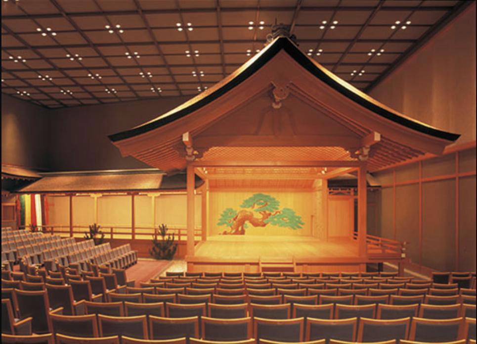 Escenario del Teatro noh